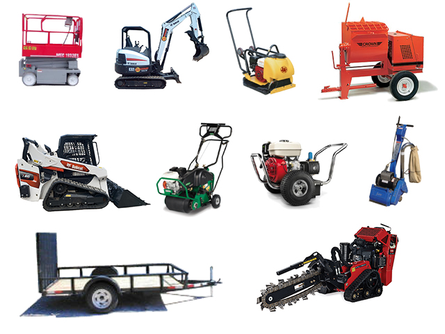 Equipment Rentals And Part Rental In Waxhaw Charlotte